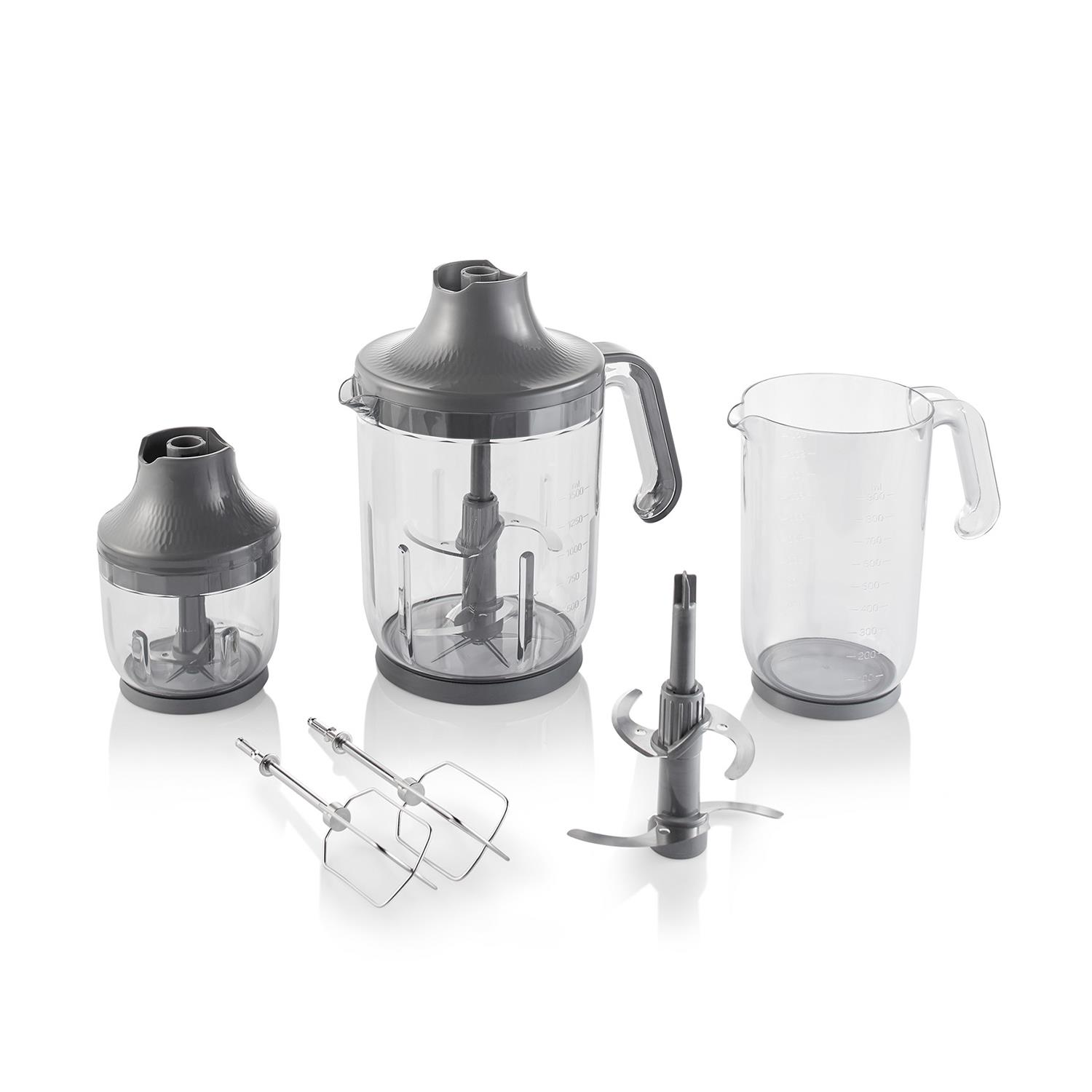 Arzum AR1070 Technoart Maxi Plus Blender Set - Siyah