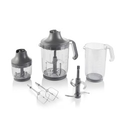 Arzum AR1070 Technoart Maxi Plus Blender Set - Siyah - Thumbnail